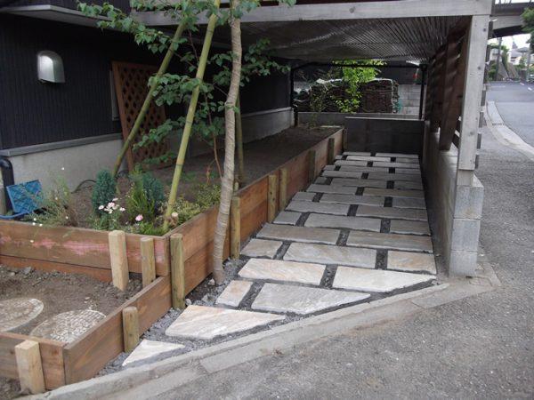 横浜市都筑区・F様邸 駐輪場 120040