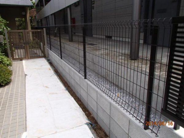 神奈川区Y様 境界フェンス 140161
