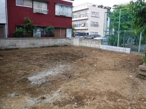 住宅施工前の外構施工 大田区T様邸