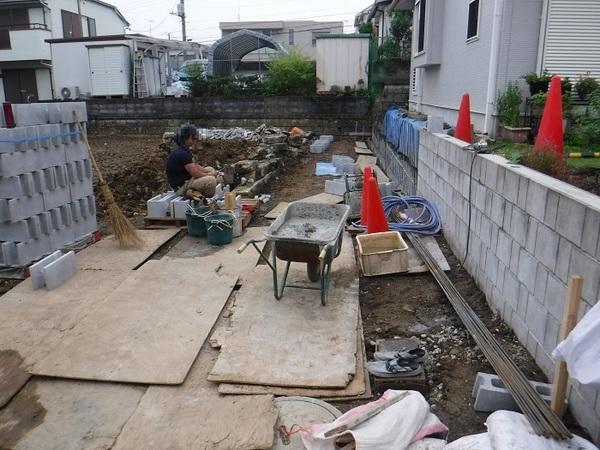 横浜市戸塚区F様邸 施工始まっています