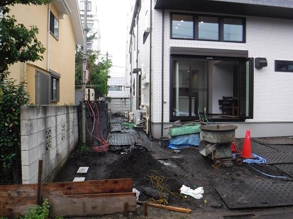 世田谷区F様邸 工事始まりました