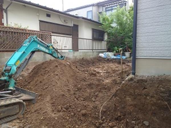 横浜市港北区T様邸 施工始まりました