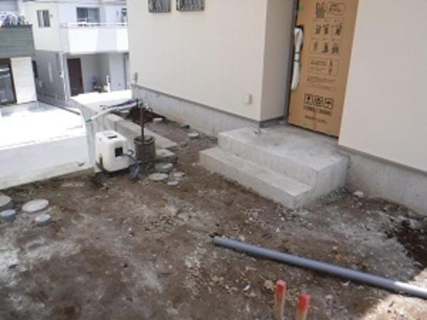 横浜市神奈川区J様 施工はじまります
